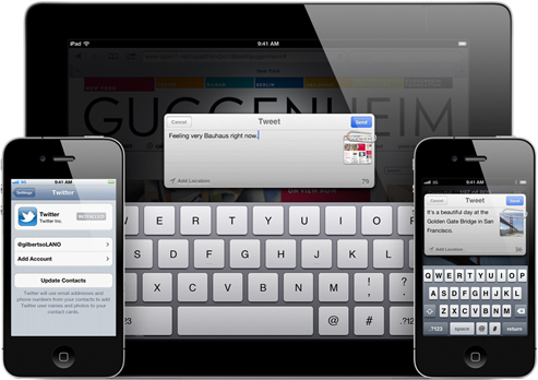 apple introduced icloud in ios5 as Apple's icloud makes syncing your data and files very easy  or an iphone,  ipod touch, or ipad running ios 5 or higher, and itunes 105 or.