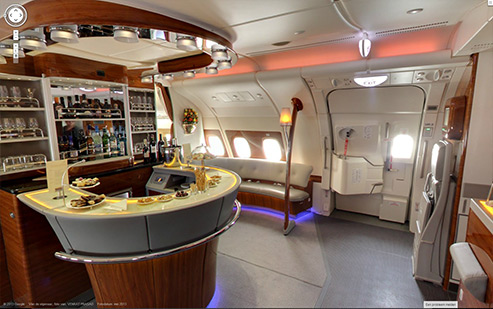 The gallery for emirates logo 2013 for Avion airbus a380 interieur