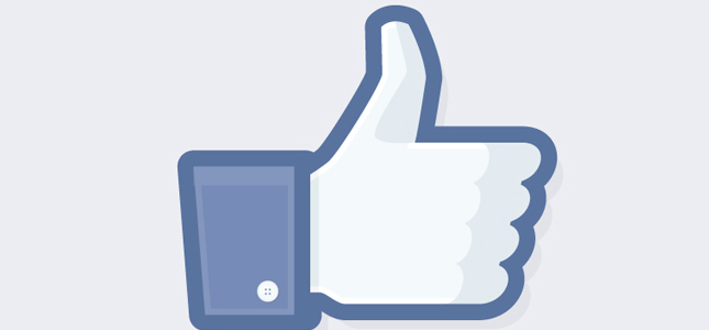 Facebook test nieuwe layout Like knop