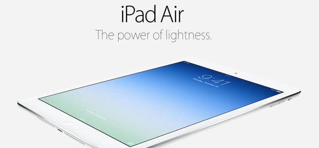 Apple presenteert nieuwe iPad Air (iPad 5) en iPad Mini met retinascherm