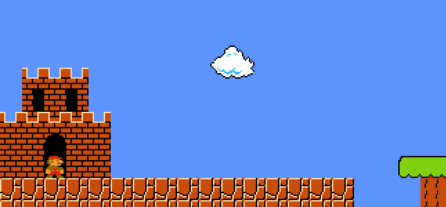 Super Mario Bros. uit 1985 nagemaakt in HTML5, Full Screen Mario