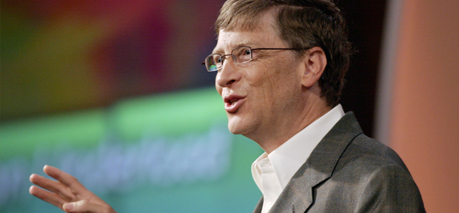 Bill Gates had problemen met installeren Windows 8.1 op eerste werkdag
