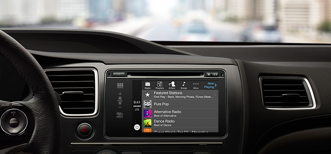 Apple presenteert CarPlay voor gebruik iPhone in de auto