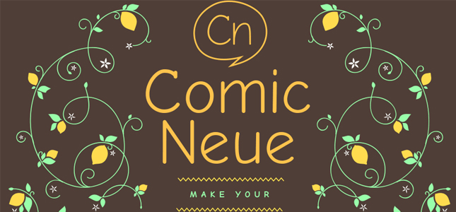 Comic Sans, meet Comic Neue