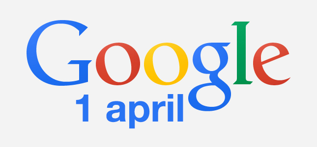1 april grappen Google 2014