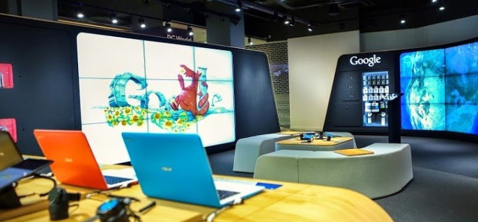 Google opent The Google Shop in Londen