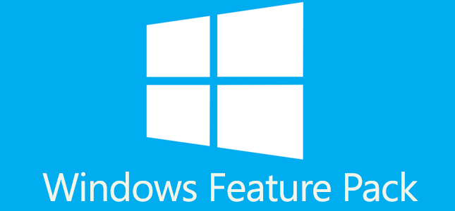 Windows Feature Pack is mogelijk de naam van update Windows 8.1