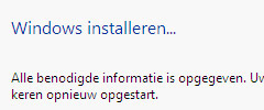 Windows Vista Installatie
